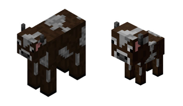 Vaca Minecraft