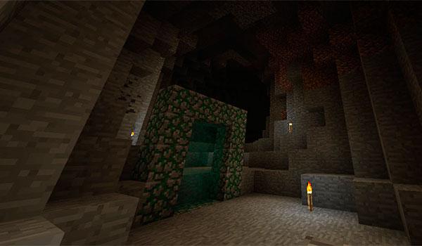 Cavern Mod para Minecraft 1.12, 1.12.1 y 1.12.2