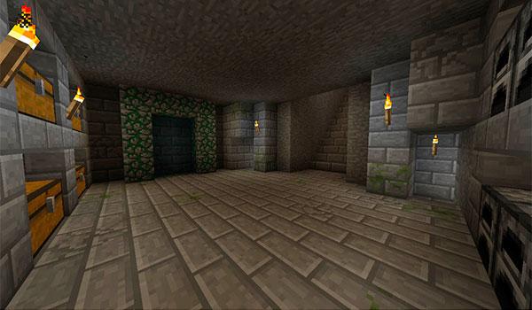 Imagen donde podemos ver como se hace uno de los portales de este mod.
