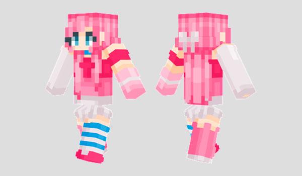 Cotton Candy Skin para Minecraft