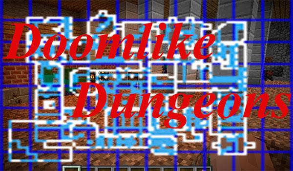 Doomlike Dungeons Mod para Minecraft 1.12 y 1.12.2