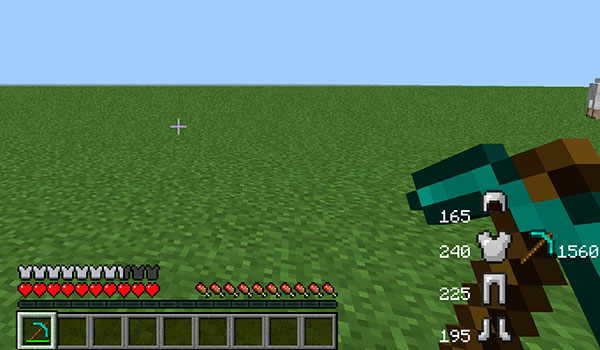 Durability Show Mod para Minecraft 1.12