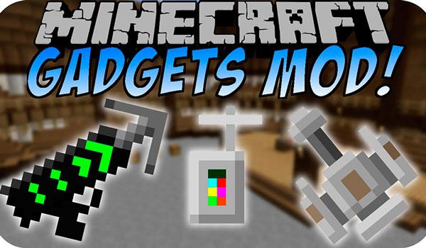 Gadgets n' Goodies Mod para Minecraft 1.12