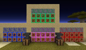 Gem Craft Mod para Minecraft 1.11.2