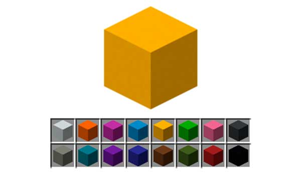Hormigón Minecraft