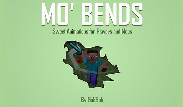 Mo' Bends Mod para Minecraft 1.12