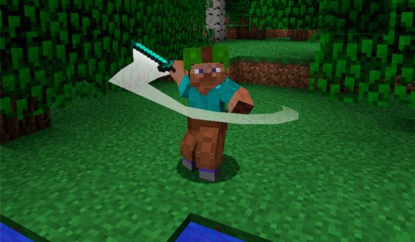 Imagen donde vemos una de las animaciones que podrá realizar nuestro personaje con este mod instalado.