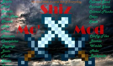 Mo' Shiz Mod para Minecraft 1.11.2
