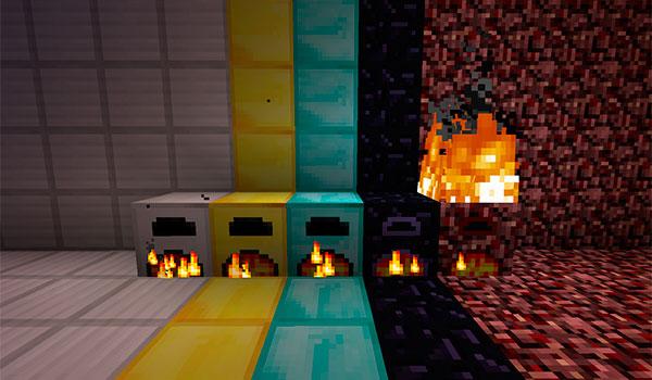 More Furnaces Mod para Minecraft 1.12, 1.12.1 y 1.12.2