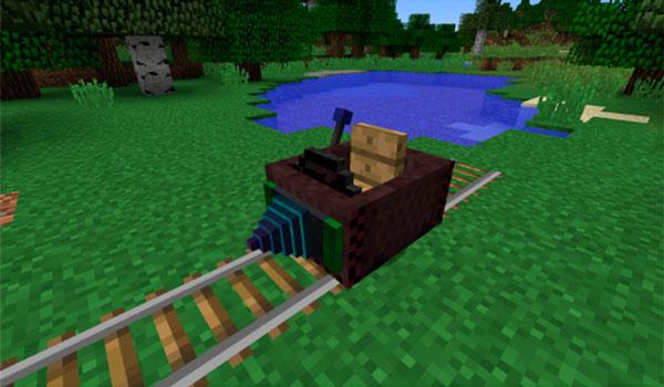 Steve's Carts Reborn Mod para Minecraft 1.12