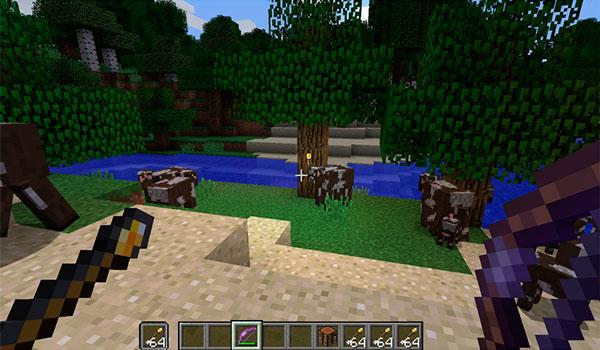 Torch Arrows Mod para Minecraft 1.12 y 1.12.1