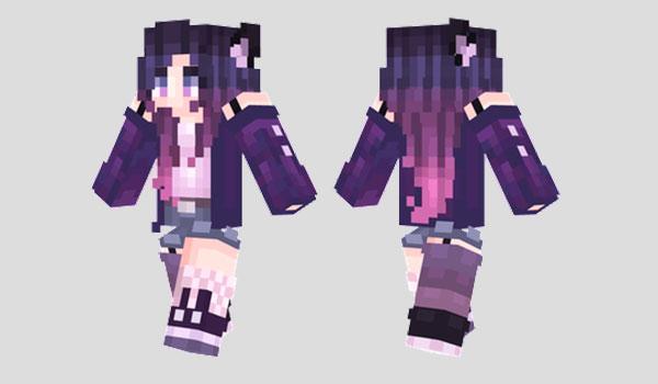 Twilight Wolf Skin Para Minecraft MineCrafteo - Skins para minecraft pe mujeres