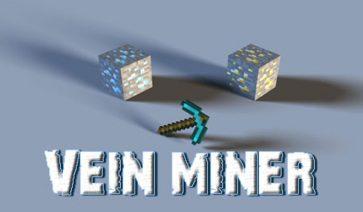 Vein Miner Mod para Minecraft 1.12, 1.12.1 y 1.12.2