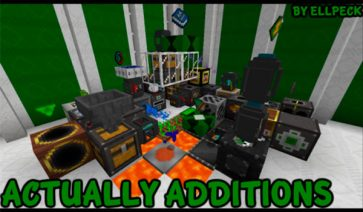 Actually Additions Mod para Minecraft 1.12, 1.12.1 y 1.12.2
