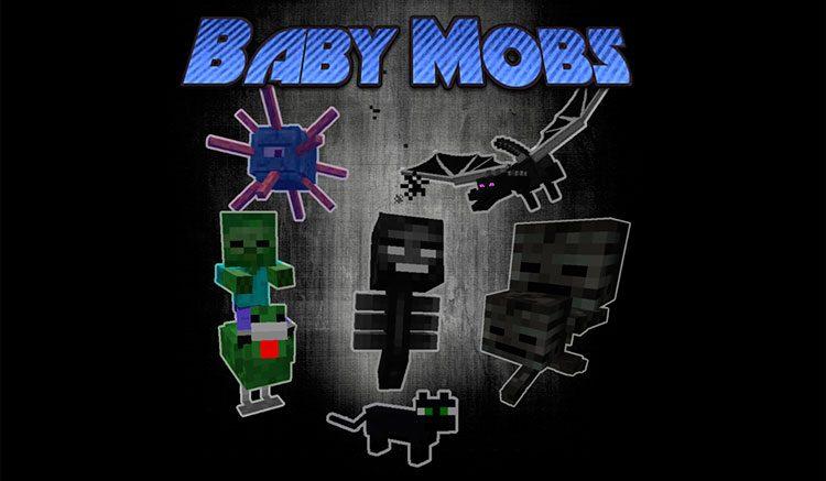 Baby Mobs Mod para Minecraft 1.12