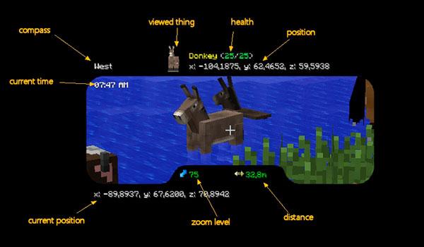 Binocular Mod para Minecraft 1.12