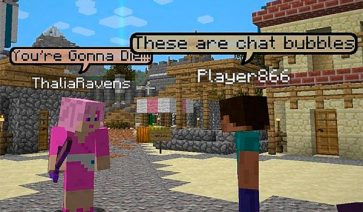 Chat Bubbles Mod para Minecraft 1.12