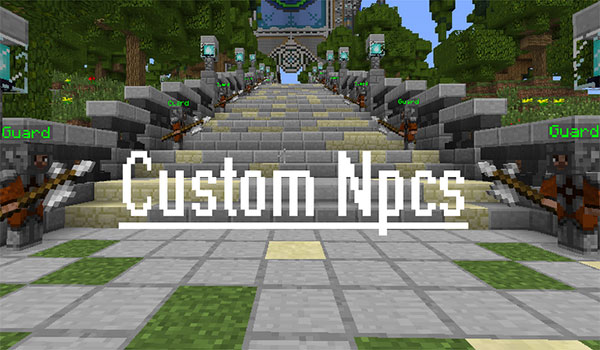 Custom NPCs 1.12