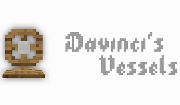 Davincis Vessels Mod para Minecraft 1.12