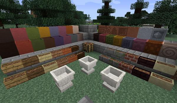 Garden Stuff Mod para Minecraft 1.12
