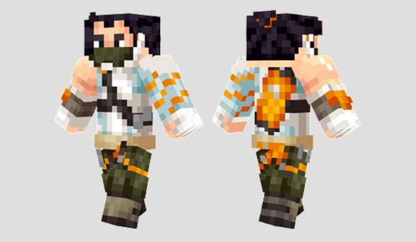 Hanzo Cyberninja Skin para Minecraft