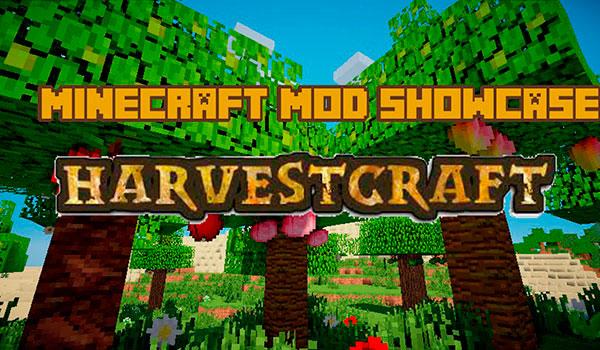 HarvestCraft Mod para Minecraft 1.12