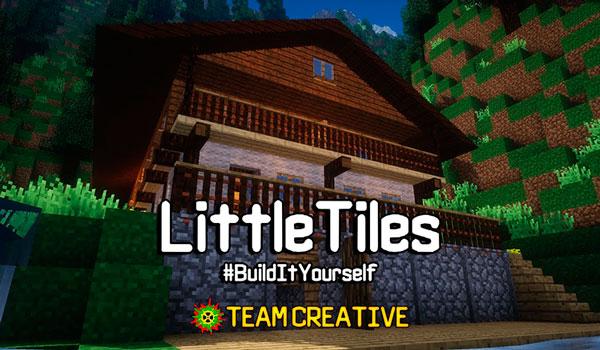 LittleTiles Mod para Minecraft 1.12 y 1.12.1