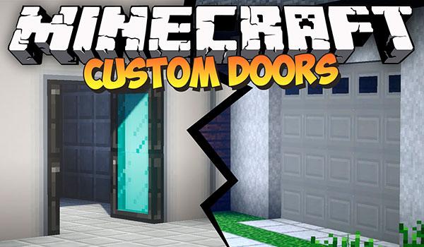 MalisisDoors Mod para Minecraft 1.12