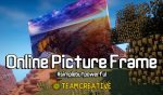 Online Picture Frame Mod para Minecraft 1.12