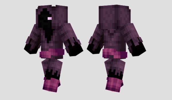 Purple Wizard Skin para Minecraft