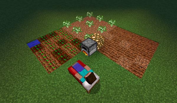 Simulated Nights Mod para Minecraft 1.12
