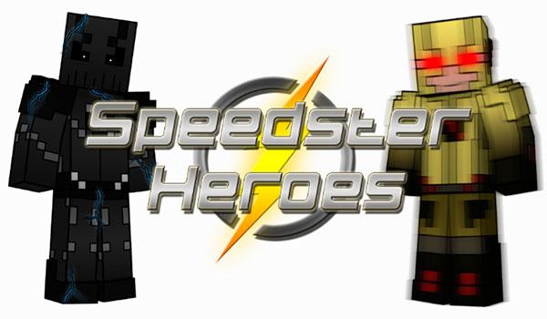 Speedster Heroes Mod para Minecraft 1.12