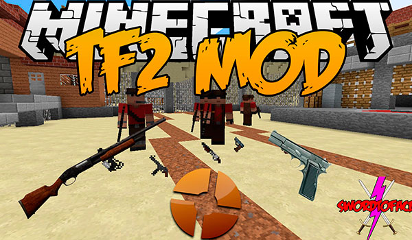 TF2 Stuff Mod para Minecraft 1.12