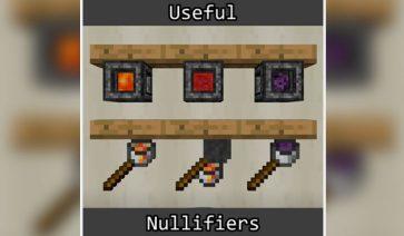 Useful Nullifiers Mod para Minecraft 1.12, 1.12.1 y 1.12.2