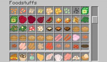 Bird's Foods Mod para Minecraft 1.12, 1.12.1 y 1.12.2