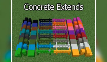 Concrete Extends Mod para Minecraft 1.12