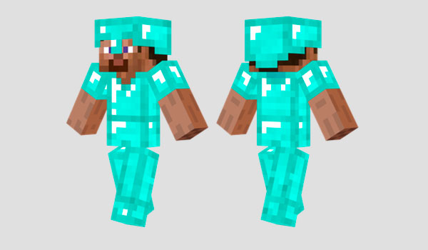 Diamond Armor Skin para Minecraft