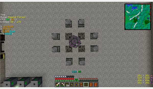 InGameInfo Mod para Minecraft 1.12, 1.12.1 y 1.12.2