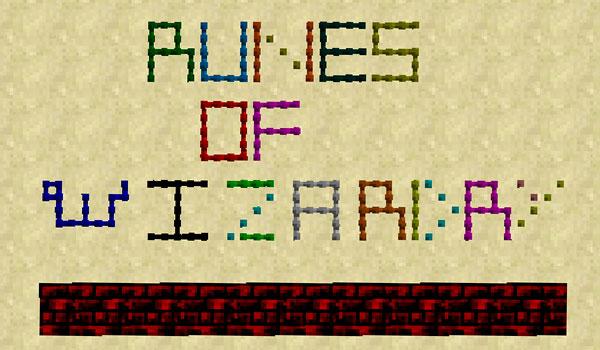 Runes of Wizardry Mod para Minecraft 1.12 y 1.12.1