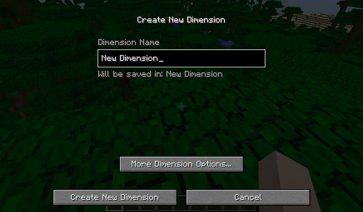 Simple Dimensions Mod para Minecraft 1.12, 1.12.1 y 1.12.2