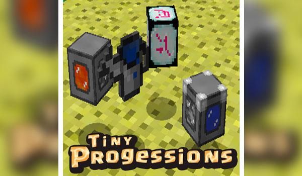 Tiny Progressions Mod para Minecraft 1.12, 1.12.1 y 1.12.2