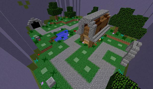 minecraft tower defense map