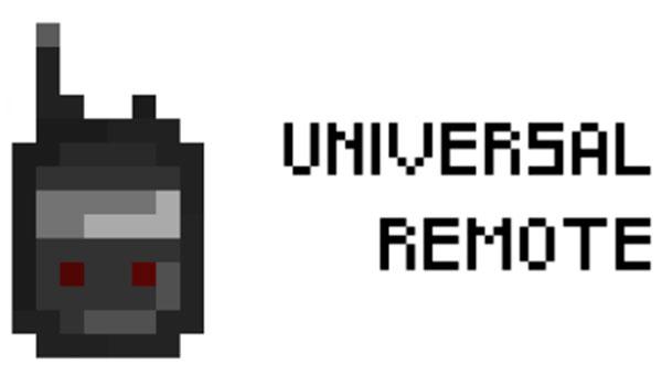 Universal Remote Mod para Minecraft 1.12, 1.12.1 y 1.12.2