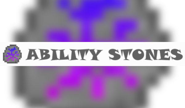 Ability Stones Mod para Minecraft 1.12.1