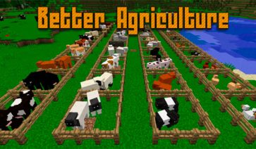Better Agriculture Mod para Minecraft 1.12.1 y 1.12.2