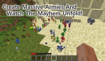 Clay Soldiers Mod para Minecraft 1.12, 1.12.1 y 1.12.2