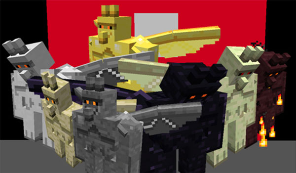 Gargoyles Mod para Minecraft 1.12 y 1.12.2
