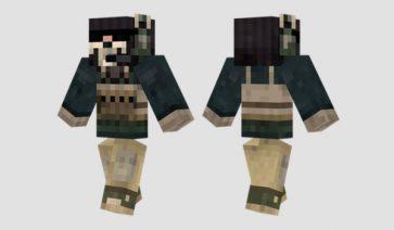 Ghost Skin para Minecraft