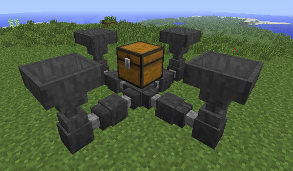 Hopper Ducts Mod para Minecraft 1.12 y 1.12.1