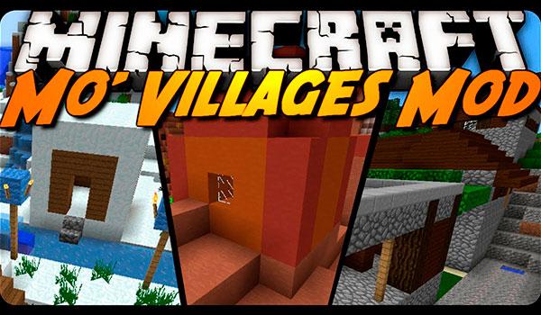 more villages mod 1.12.2